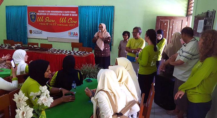 Titian Membantu Relawan ROTA Berbagi Pengetahuan Keperawatan di Klaten